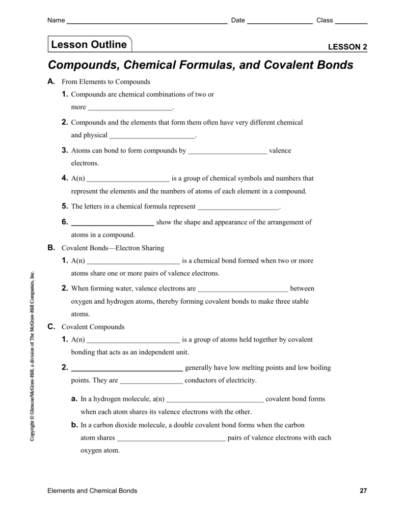medium resolution of Lesson 2   Compounds