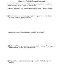 Chem 11 - Periodic Trends Worksheet [ 1024 x 791 Pixel ]