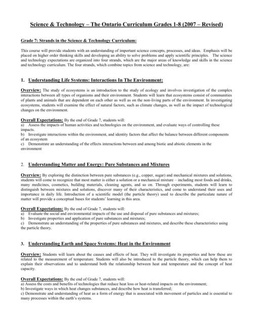 small resolution of Science Grade 7 – Course Description
