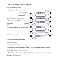Best Of Dna the Molecule Of Heredity Worksheet | goodsnyc.com