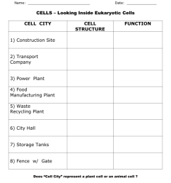 Cell City Chart [ 1024 x 791 Pixel ]