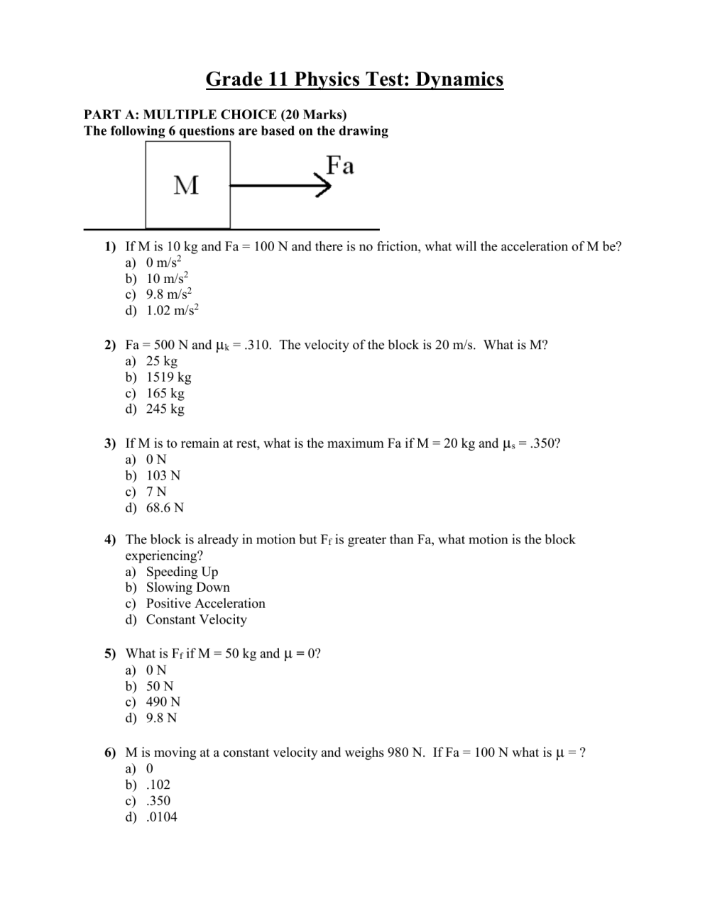 medium resolution of 11 Grade Physics Worksheets   Printable Worksheets and Activities for  Teachers