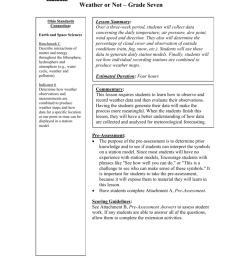 Weather Worksheet - ODE IMS - Ohio Department of Education [ 1024 x 791 Pixel ]