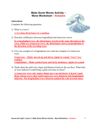 worksheet. Sound Waves Worksheet. Grass Fedjp Worksheet