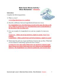 worksheet. Sound Waves Worksheet. Grass Fedjp Worksheet