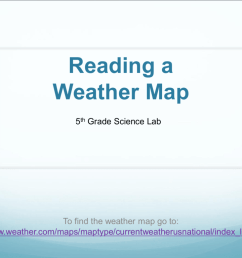 Reading a Weather Map - WLAScienceLab5 [ 768 x 1024 Pixel ]