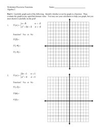 worksheet. Evaluating Piecewise Functions Worksheet ...