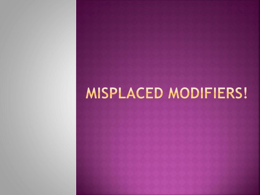 Dangling Modifier Worksheets 7th Grade