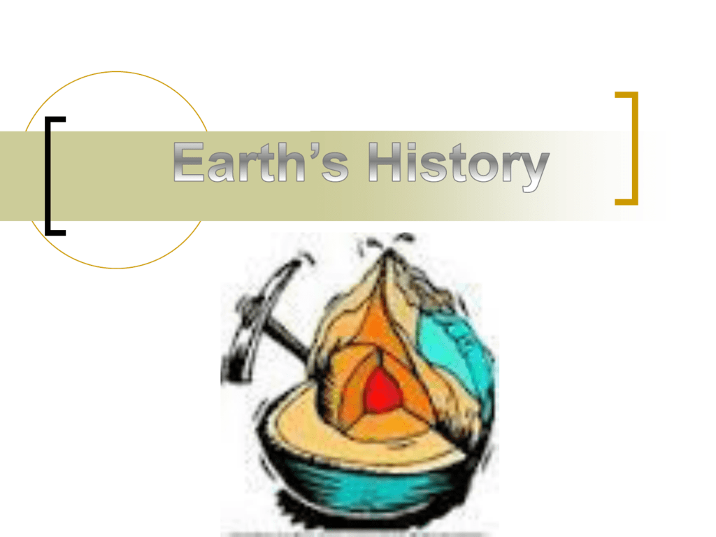 8 E 2 1 Dating The Earth Powerpoint