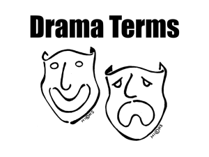 ROMEO AND JULIET DRAMA & LITERARY TERMS