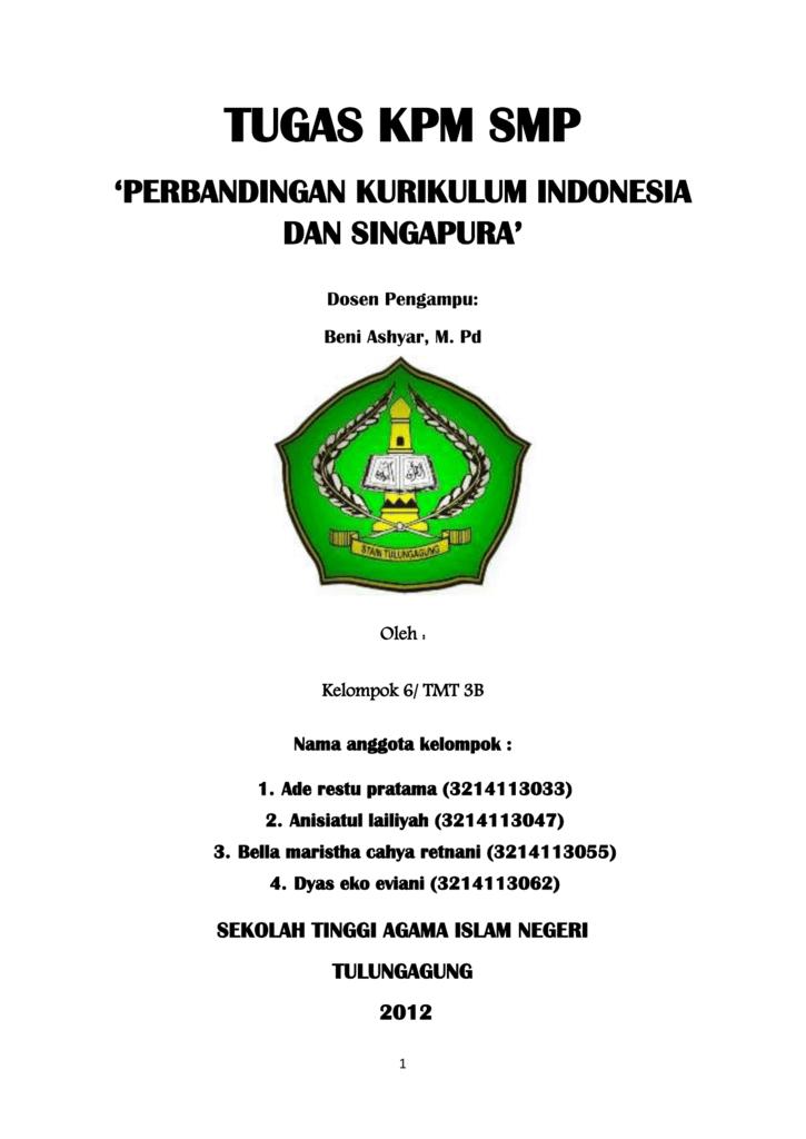 Perbedaan Waktu Indonesia Dan Singapura : perbedaan, waktu, indonesia, singapura, Perbandingan, Kurikulum, Indonesia, Singapura