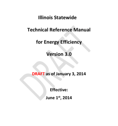 illinois statewide technical reference manual illinois statewide technical reference manual for energy efficiency version 3 0 draft as of january 3 2014  [ 791 x 1024 Pixel ]