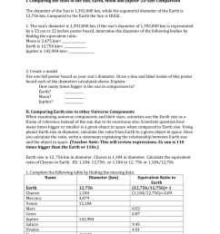 Student Worksheet [ 1024 x 791 Pixel ]