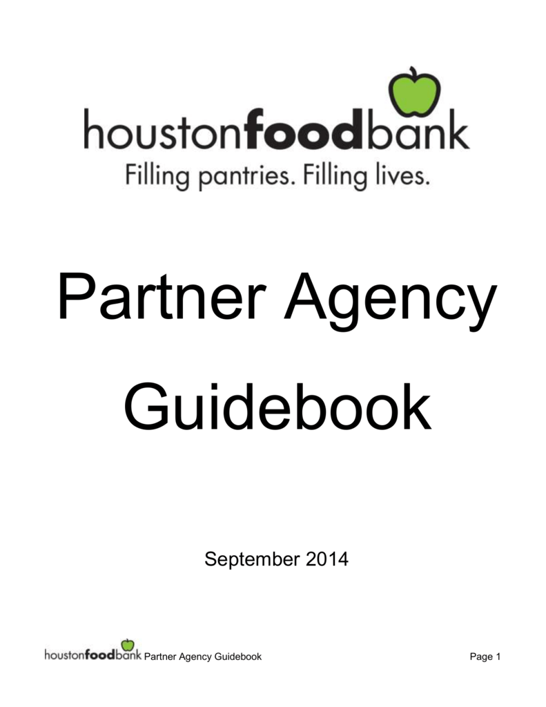 2014 HFB Partner Agency Guide