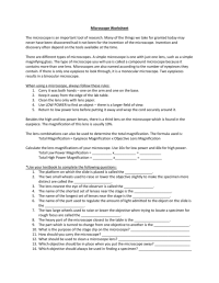 worksheet. Microscope Lab Worksheet. Grass Fedjp Worksheet ...