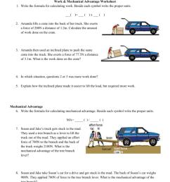 35 Simple Machines And Mechanical Advantage Worksheet Answer Key - Worksheet  Resource Plans [ 1024 x 791 Pixel ]