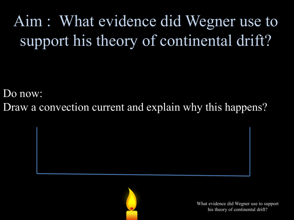 Wegner S Theory Of Continental Drift