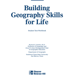 GEOGRAPHY SKILLS WORKSHEETS [ 1632 x 1275 Pixel ]