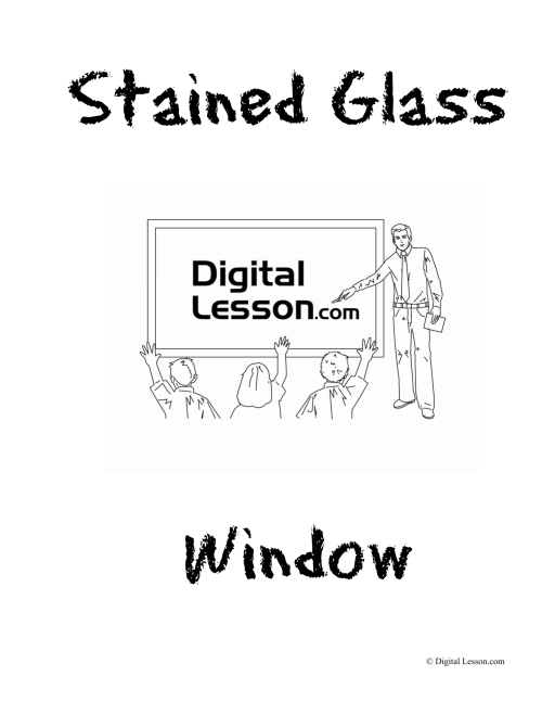 small resolution of Stained Glass Project
