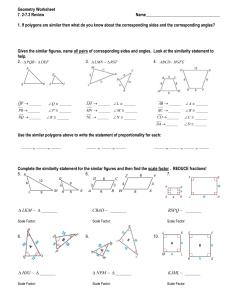 Similar Polygons Worksheet Answers : similar, polygons, worksheet, answers, Similar, Polygons, Worksheet, Answers