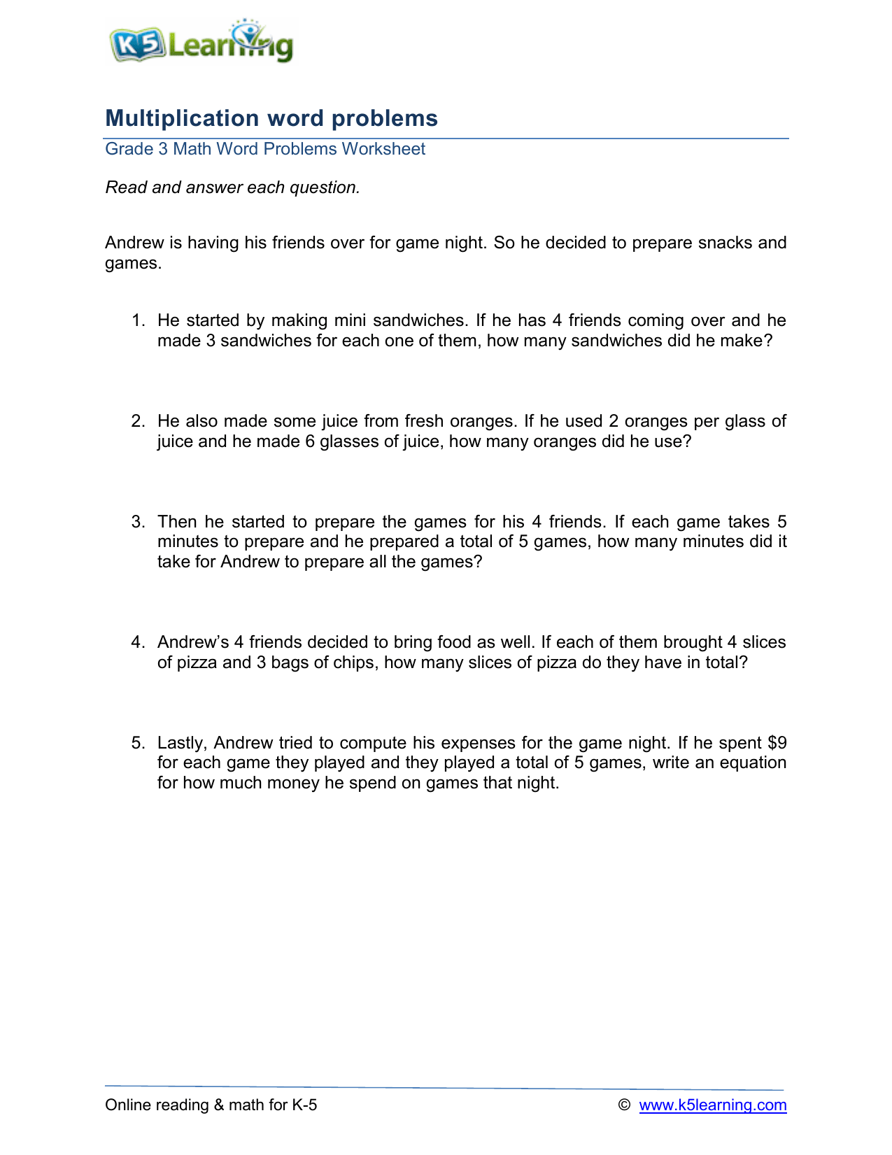 hight resolution of grade 3 multiplication word problems a1