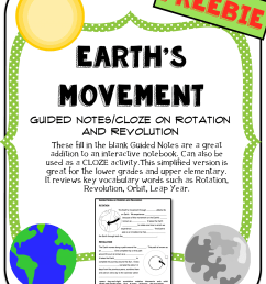 Rotation Revolution Earth Worksheets Kids   Printable Worksheets and  Activities for Teachers [ 1651 x 1275 Pixel ]