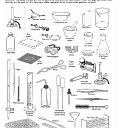 Lab Tools Worksheets [ 1651 x 1275 Pixel ]
