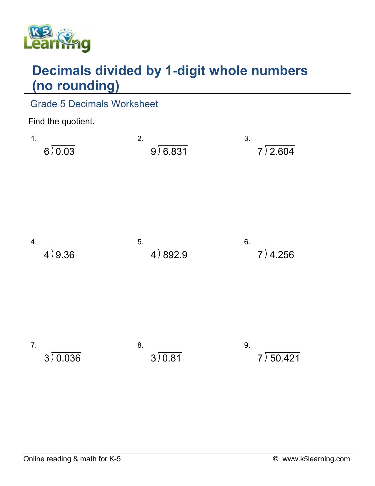 hight resolution of grade-5-divide-decimal-by-1d-whole-number-no-round-b