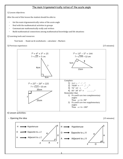 small resolution of Acute Angles Worksheets   Printable Worksheets and Activities for Teachers