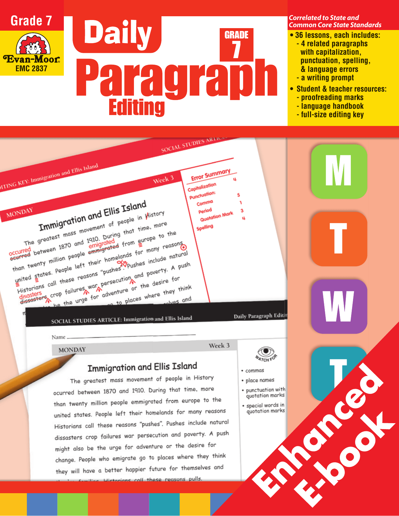 hight resolution of Daily Paragraph Writing Grade 7