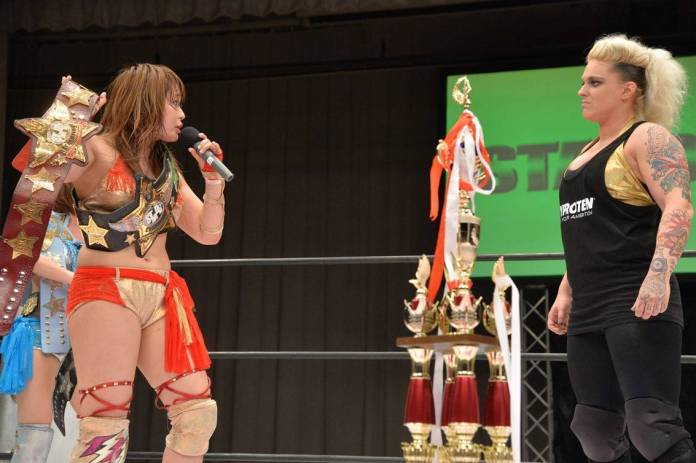 Stardom: Results «The Highest 2016» - 21/03/2016 - The return of Alpha  Female | Superfights