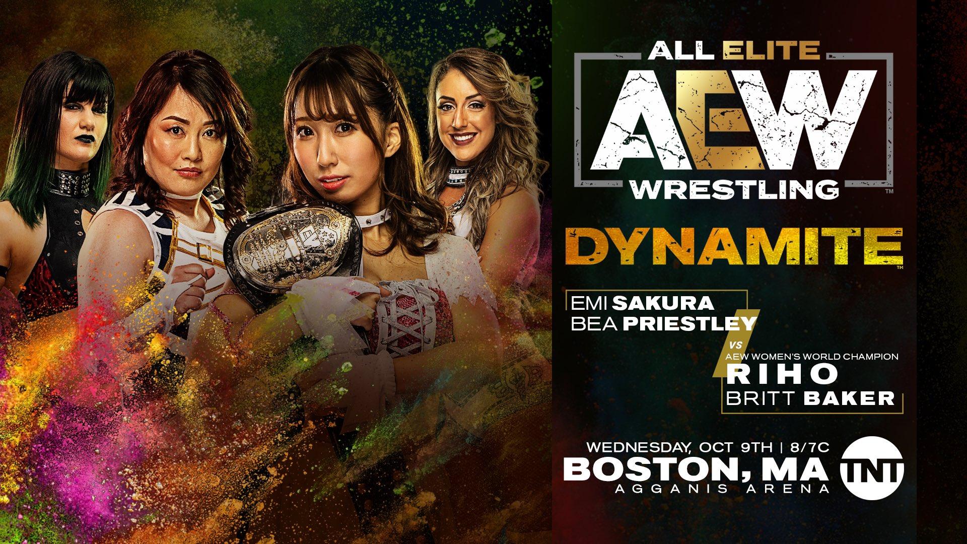 AEW Dynamite 9 de octubre 2019