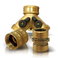 Garden Hose Fittings - Brass Garden Hose Fittings - Garden ...