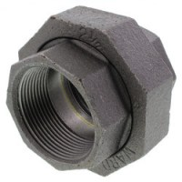 Unions , Black Malleable Fittings , Black Unions , Ward