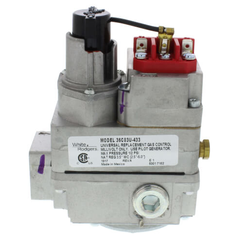 Wiring White Rodgers 36c84 Gas Valve Electric Furnace Wiring