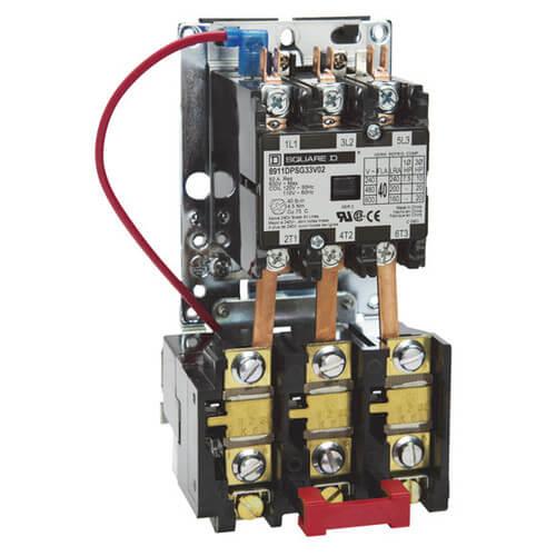 square d 8536 motor starter wiring diagram pioneer deck 8911dpso23v06 - 3-pole 25a (480v)