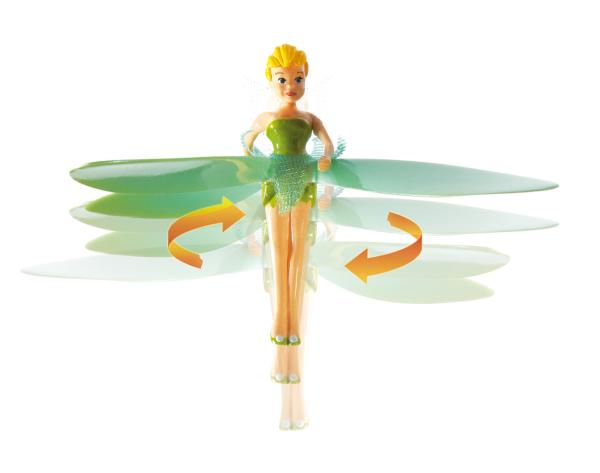 Fairy House Playset With Flying Tinkerbell Toys Zavvi