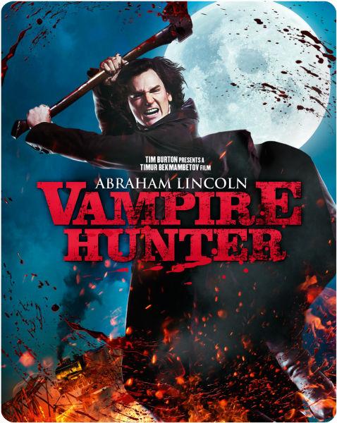 Abraham Lincoln Vampire Hunter Limited Edition Steelbook Blu Ray