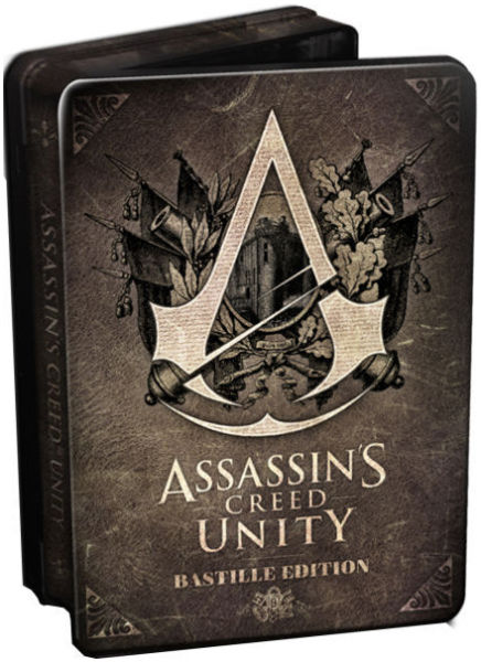 Assassins Creed Unity Bastille Edition Deluxe Figure