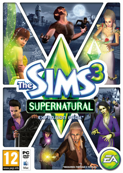 The Sims 3 Supernatural PC  Zavvi