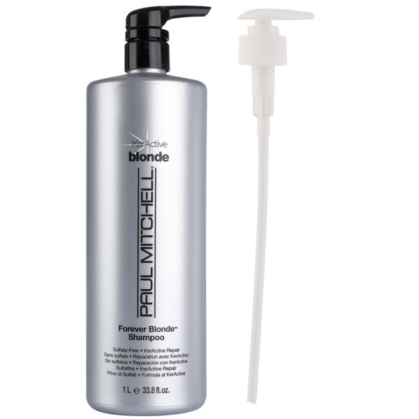 Paul Mitchell Forever Blonde Shampoo 1000ml With Pump