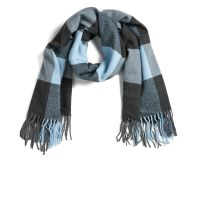 ONLY Women's Scarlett Check Scarf - Cool Blue Clothing | Zavvi