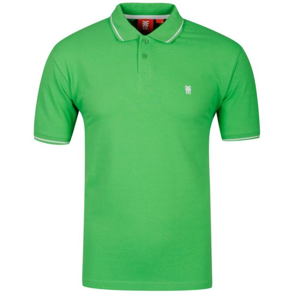Fenchurch Men' Costner Polo Shirt - Kelly Green Clothing