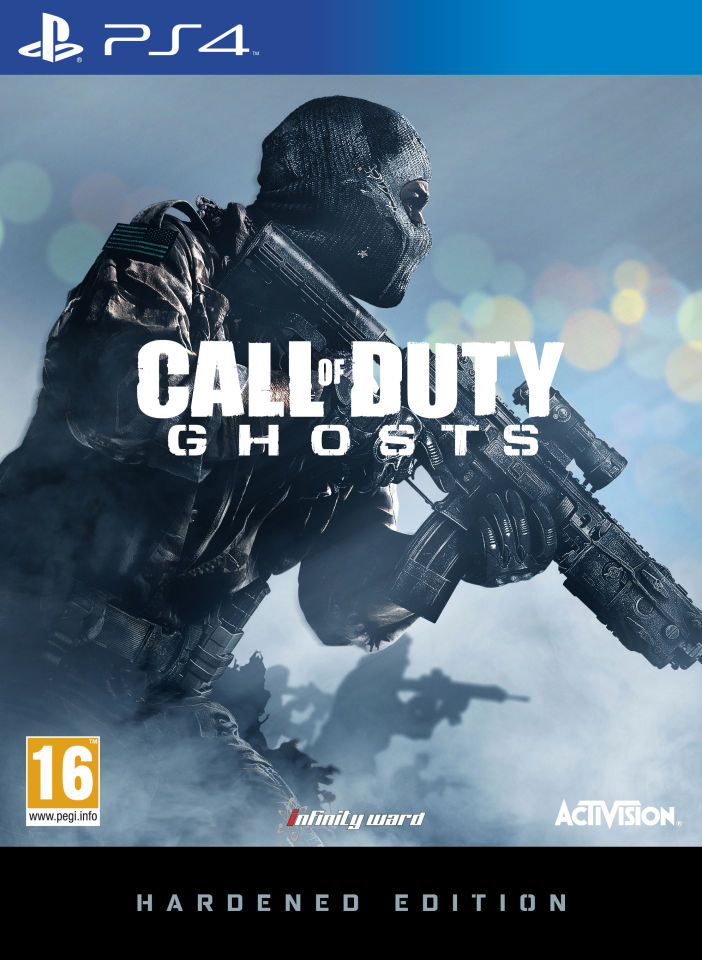 Call Of Duty Ghost 2 : ghost, Duty:, Ghosts, Hardened, Edition, Zavvi.nl