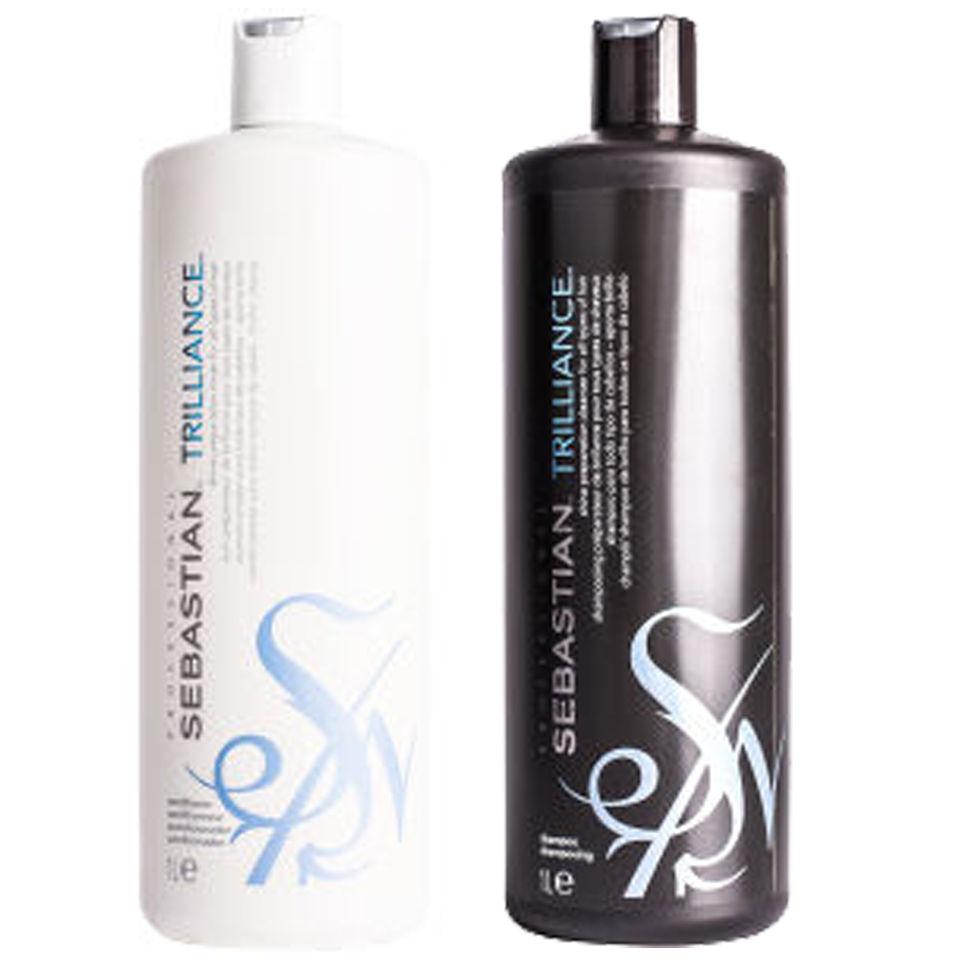 Sebastian Professional Trilliance Shampoo And Conditioner