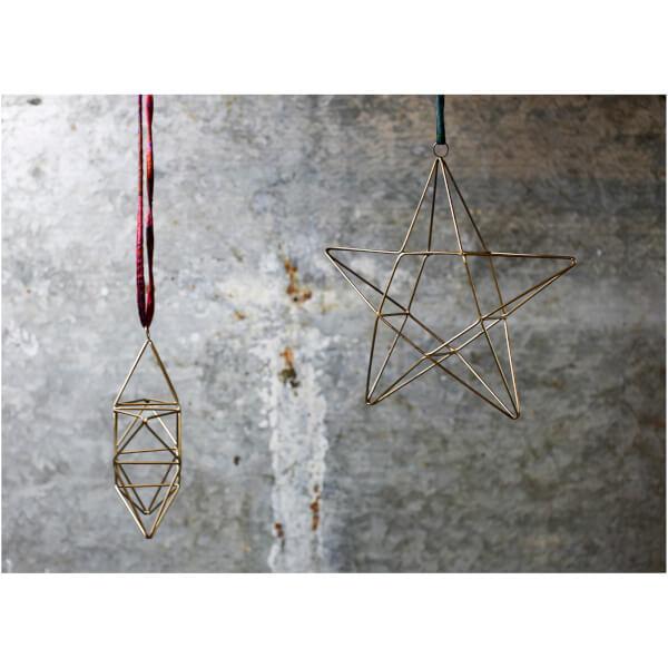 Nkuku Talini Star Christmas Decoration