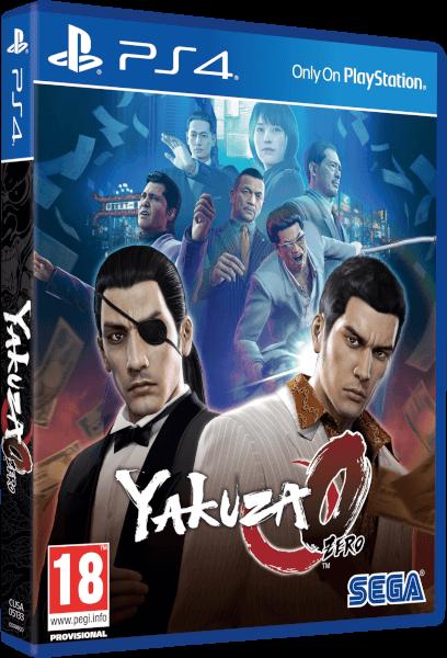 Yakuza 0 PS4 Zavvi