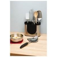 simplehuman Brushed Steel Utensil Holder Homeware | TheHut.com