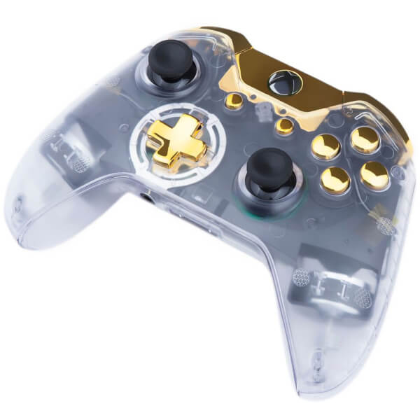 Custom Controllers Xbox One Controller Transparent Gold