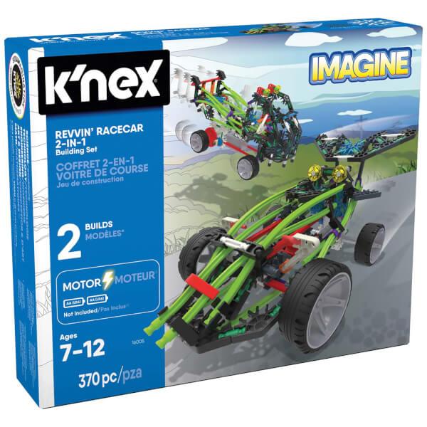 K'NEX Revvin' Racecar 2-in-1 Building Set